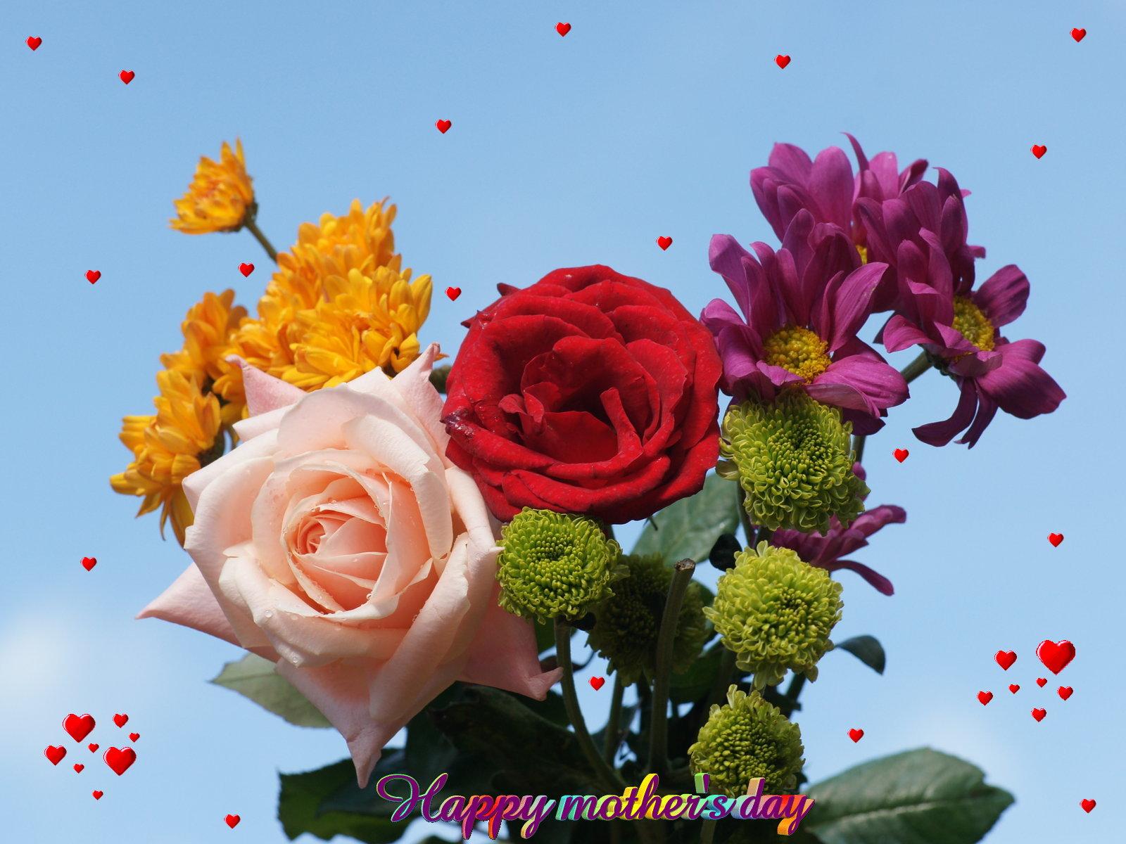Happy mothers day flower wallpaper flower